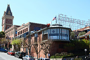 Brick Buildings Prints - Ghirardelli Chocolate Factory San Francisco California . 7D14093 Print by Wingsdomain Art and Photography