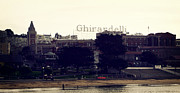 Fisherman Metal Prints - Ghirardelli Square Metal Print by Linda Woods