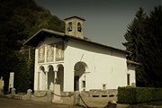 Lago Di Como Framed Prints - Ghisallo Chapel Framed Print by Chuck Parsons