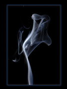 Smoke Art Framed Prints - Ghost Framed Print by Bryan Steffy