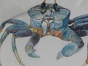 Wild Animals Ceramics - Ghost Crab by Fleurlise