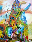 Passionate Paintings - Ghost Guitar by John Barney
