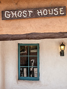 Ghost House Posters - Ghost Houst at Ghost Ranch Poster by Matt Suess
