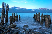 Kenai Framed Prints - Ghost Pier No. 2 Framed Print by Adam Pender