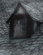 Ghost Rain Print by RC DeWinter