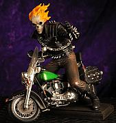 Model Mixed Media Originals - Ghost Rider Model  by Craig Incardone