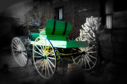 Conestoga Wagon Photos - Ghost Rider  by Susanne Van Hulst