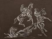 Sports Pastels - Ghost Riders in the Sky by Tom Conway