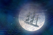 Daydream Digital Art - Ghost Ship by Carol and Mike Werner