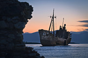 Smuggling Photo Prints - Ghost Ship Print by Ioannis Adamidis