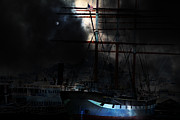 Hyde Street Posters - Ghost Ship of The San Francisco Bay . 7D14032 Poster by Wingsdomain Art and Photography