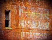 Iowa Photos - Ghost Sign by Cassie Peters