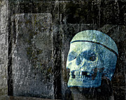 Grave Photos - Ghost Skull by Edward Fielding