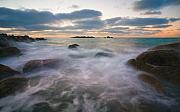 Fleurieu Peninsula Prints - Ghost Tides Print by Mike  Dawson