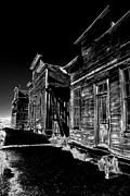 Old Houses Posters - Ghost Town Poster by Paul W Faust -  Impressions of Light