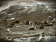 Old Cabins Digital Art - Ghost Town Series 1 by Philip Tolok