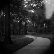 Holga Camera Prints - Ghost Walker 2 Print by Paul Anderson