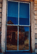 Ghost Towns Framed Prints - Ghostly Image Framed Print by Gary Brandes