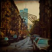 Wtc Digital Art Metal Prints - Ghosts Metal Print by Chris Lord
