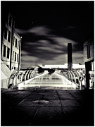 Lenny Carter Framed Prints - Ghosts in the City Framed Print by Lenny Carter