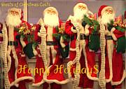 Ghosts Of Christmas Costs Greeting Card Print by Joe JAKE Pratt