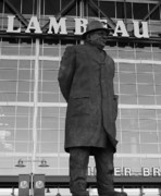 Lambeau Field Posters - Ghosts of Lambeau Poster by Tommy Anderson