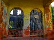 Abandoned Buildings Prints - Ghosts of Oahu Print by Elizabeth Hoskinson