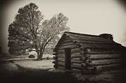 Log Cabin Digital Art Prints - Ghosts of Valley Forge Print by Paul W Faust -  Impressions of Light