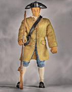 Gi Prints - G.I Joe American Revolution Doll  Print by Randy Steele