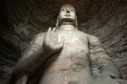 Sami Sarkis Art - Giant Buddha statue in China by Sami Sarkis