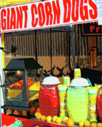 Corn Dogs Framed Prints - Giant Corn Dogs Framed Print by William Dey