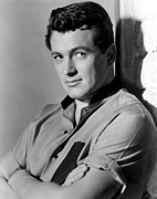 1950s Portraits Photos - Giant, Rock Hudson, 1956 by Everett