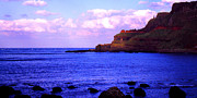 Honeycomb Prints - Giants Causeway Northern Ireland Print by Thomas R Fletcher