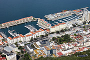 Residential Prints - Gibraltar Marina Print by Artur Bogacki