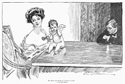 1901 Prints - Gibson: Gibson Girl, 1901 Print by Granger