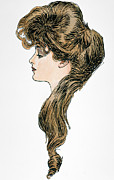Question Mark Posters - Gibson Girl, 1903 Poster by Granger
