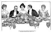 Banquet Prints - Gibson: Retirement, 1900 Print by Granger
