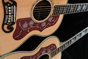 Gibson Sj200 Print by Edward R Wisell