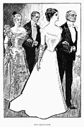 1899 Framed Prints - Gibson: The Debutante, 1899 Framed Print by Granger