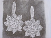 Diamond Drawings Prints - Gift  Print by Anu A