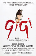 Caron Framed Prints - Gigi, Leslie Caron, 1958 Framed Print by Everett