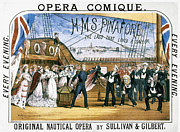 1878 Photos - Gilbert & Sullivan, 1878 by Granger