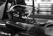 Gilles Villeneuve 1950-1982 Print by Mike Flynn