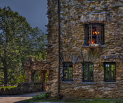 Gillette Castle Exterior Hdr Print by Susan Candelario
