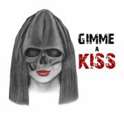 Grim Drawings - Gimme a Kiss Poster by Drawings Drawer