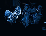 Concert Photos Digital Art - Gimme Three Blue Steps by Ben Upham