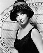 Lollobrigida Framed Prints - Gina Lollobrigida, 1959 Framed Print by Everett