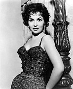 Sequined Posters - Gina Lollobrigida, Ca. 1956 Poster by Everett