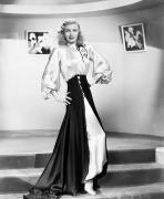1950s Fashion Prints - Ginger Rogers (1911-1995) Print by Granger