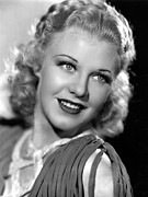 Ginger Rogers Framed Prints - Ginger Rogers, 1935 Framed Print by Everett